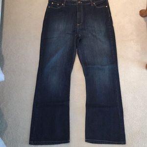 Riders by Lee Premium Dark Wash Jeans Sz 16M